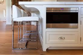 modern white kitchen island. White KItchen Island With Modern Counter Stools Kitchen