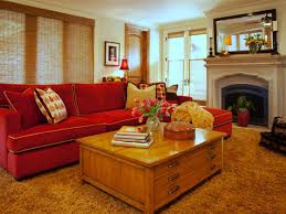 living room with red furniture. unique living throughout living room with red furniture