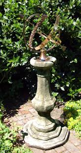 barrel garden garden sundial
