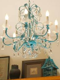 ideas spray painting a chandelier or blue chandelier redo turquoise painted 24 spray painting chandelier silver fresh spray painting a chandelier