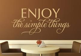 wall words  on wall art words stickers with enjoy the simple things wall decal stylish vinyl decor