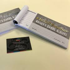 gift vouchers and wallets