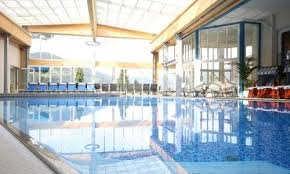 hotel outdoor pool. Indoor And Outdoor Pool At The Palace Hotel Lacknerhof In Salzburg Land