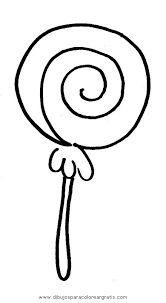 Lollipop Coloring Pages Getcoloringpagescom