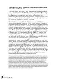 world order essay year hsc legal studies thinkswap world order essay