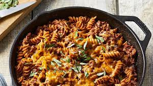 Keep leftovers stored in the fridge, in an airtight container, for up to 3 days. Ground Beef Pasta Skillet Recipe Eatingwell