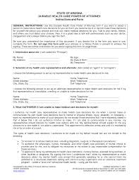 Health Care Power Of Attorney Form Health Care Power Of Attorney Template Health Care Power Of Attorney 6
