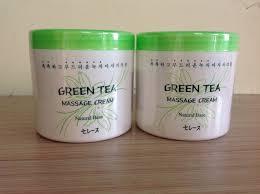 Kết quả hình ảnh cho green tea massage cream