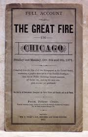 Image result for the Great Chicago Fire memorials