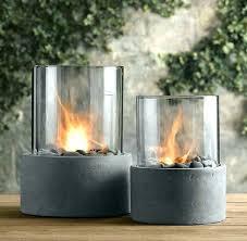 outdoor fire column propane pit gas