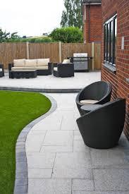 Stunning Modern Patio Birch Granite Paving Garden Wicker Furniture  Landscaping The Best Design Ideas On Pinterest