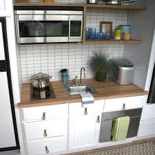 tiny house kitchen sink dimensions this inspiring tiny kitchen has plenty of storage and everything you