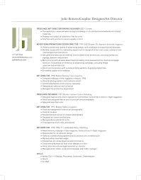 Julie Betters -Art Director/Graphic Designer Resume .