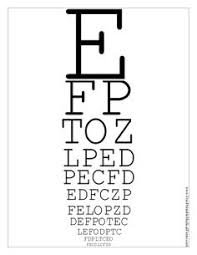 Standard Eye Test Chart Printable 211 Best Eye Chart Images Eye Chart Chart Optometry Office