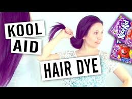 Kool Aid Hair Dye Chart For Dark Hair How To Dye Your Hair With Kool Aid Or Using Ion Color Brilliance