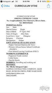 Recruitment Cv Massive Recruitment Cv In Port Harcourt Part Time