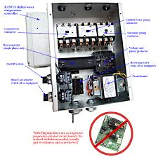 """marine ac commercial operators page look at this single compressor chiller electric box all the components are """"over the counter"""" at a fraction of typical costs in our industry"""