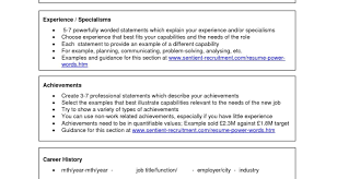 Online Resume Download Effective Objective Statements For Resumes