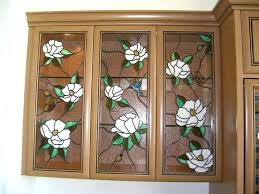 stained glass cabinet kitchen doors patterns