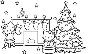 Small Picture Hello kitty christmas coloring pages ColoringStar