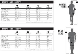 Forte Sportswear Usa Size Guide