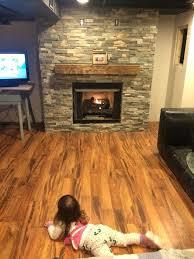 gas fireplace basement natural inserts menards ventless insert