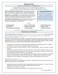 Financial Planning Assistant Sample Resume Interesting Executive Resume Samples