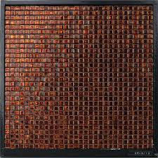 tiles design for hall waterproof square amber glass mosaic hotel hall wall tile tile design tiles