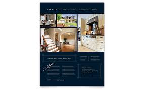 Luxury Home Real Estate Flyer Template Word Publisher