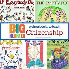 a growing list of books to teach citizenship