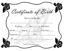 With canva's certificate maker, you won't need to hire a designer just to create your certificates. Free Printable Blank Baby Birth Certificates Templates