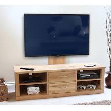 image baumhaus mobel. Baumhaus Mobel Solid Oak Mounted Widescreen TV Cabinet COR09E Image K
