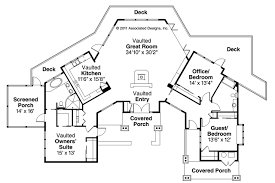trendy cabin style homes floor plans 5 astonishing cottage house with open plan 1