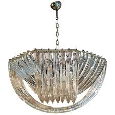 murano curved crystal chandelier by carlo nason 7 4 200 00