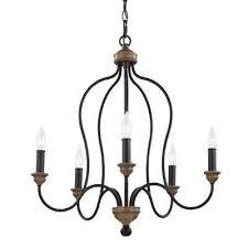 hartsville 5 light dark weathered zinc weathered oak single tier chandelier