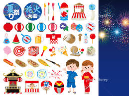 夏祭り アイコン イラスト素材 3657044 フォトライブラリー