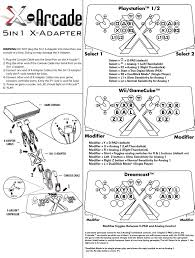 5in1 x adapter user guide playstation 1 2 wii gamecube and manual printable