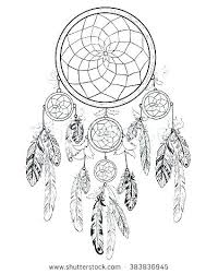 Dream Catcher Worksheet Impressive Dream Catcher Coloring Pages Signaturemodeco