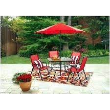 6 person patio set patio 6 person round outdoor dining table