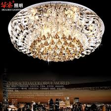 magnificent crystal lighting chandelier modern round crystal chandeliers fashionable flush mount ceiling