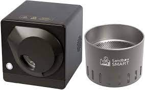 Amazon.com: Sandbox Smart R1+C1, Coffee Bean Roaster and Cooling Tray,  Coffee Bean Roasting Machine use APP for Home 220V (Black): Kitchen & Dining