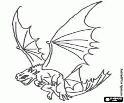 How To Train Your Dragon Coloring Pages Printable Games 3