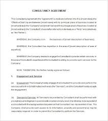 Consulting Contract Template Free Download 16 Consultant Contract Templates Word Google Docs Pdf