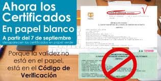 Ahora Los Certificados En Papel Blanco Ccputumayo Org Co