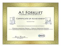 forklift license template download forklift certification card template free forklift certification