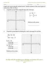 worksheet graphs of linear equations worksheets systems graphing voary worksheet with answer key
