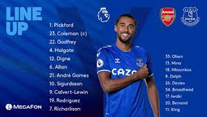 """Everton on Twitter: """"⚠️ 𝗧𝗘𝗔𝗠 𝗡𝗘𝗪𝗦! ⚠️ 3️⃣ changes 🔙 DCL starts as  five return to the squad COME ON YOU BLUES! #ARSEVE… """""""