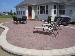 brick paver patio herringbone. Simple Patio Cool Herringbone Brick Paver Patterns In Patio With Two Colors  Combined Stack Bond Pattern For Brick Paver Patio Herringbone R