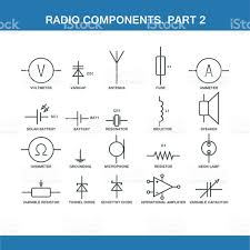 designation of components in the wiring diagram stock vector art designation of components in the wiring diagram royalty stock vector art