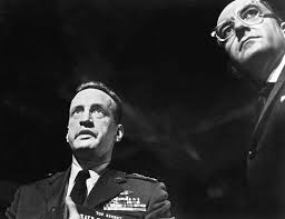 dr strangelove or how i learned to stop worrying and love the  george c scott left peter sellers in stanley kubrick s dr strangelove